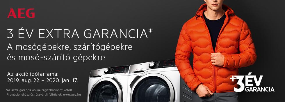AEG Laundry +3ys extra warranty HU