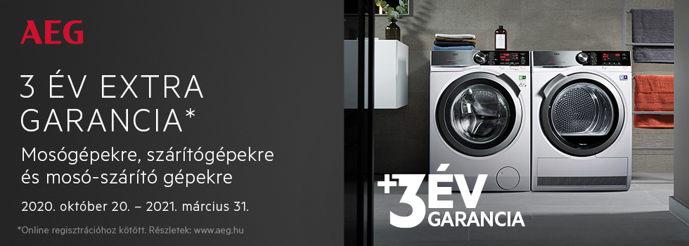 AEG Laundry Extended Warranty HU