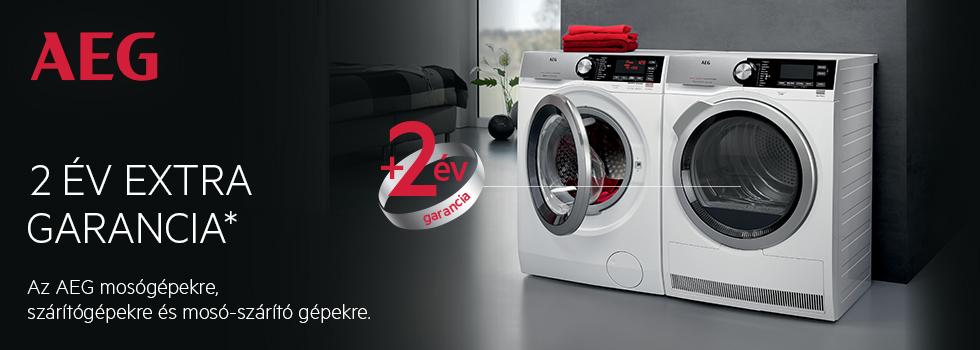 AEG Washers & Dryers Feb - Apr 2017 - Hungary