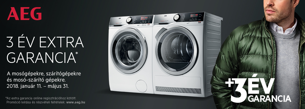 AEG Washers & Dryers Jan - May 2018 - Hungary