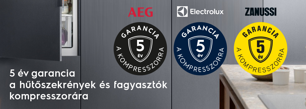 Compressor 5 years warranty for Cold products