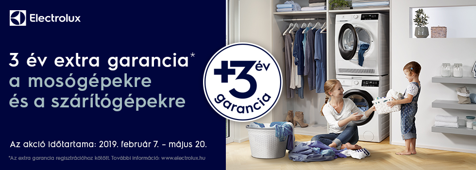 EW +3 years to Elx Laundry Hungary
