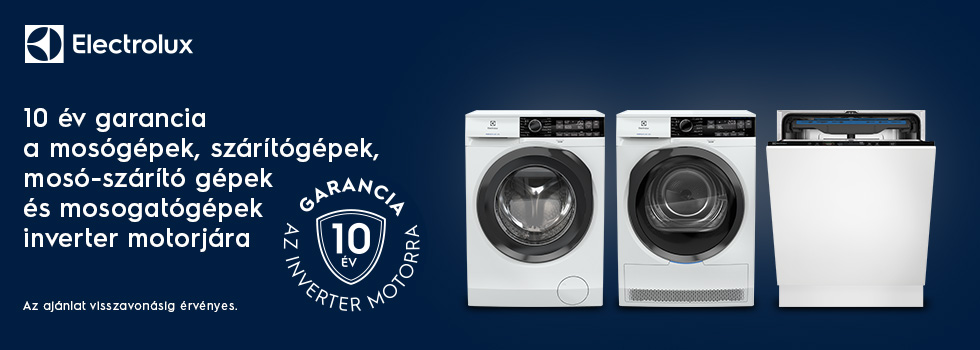 Electrolux Inverter Motor 10 year campaign